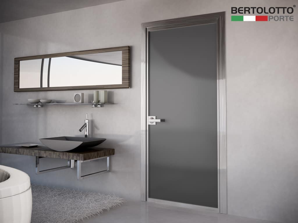 Porte interne bertolotto design moderne vetro - Porte in vetro design ...