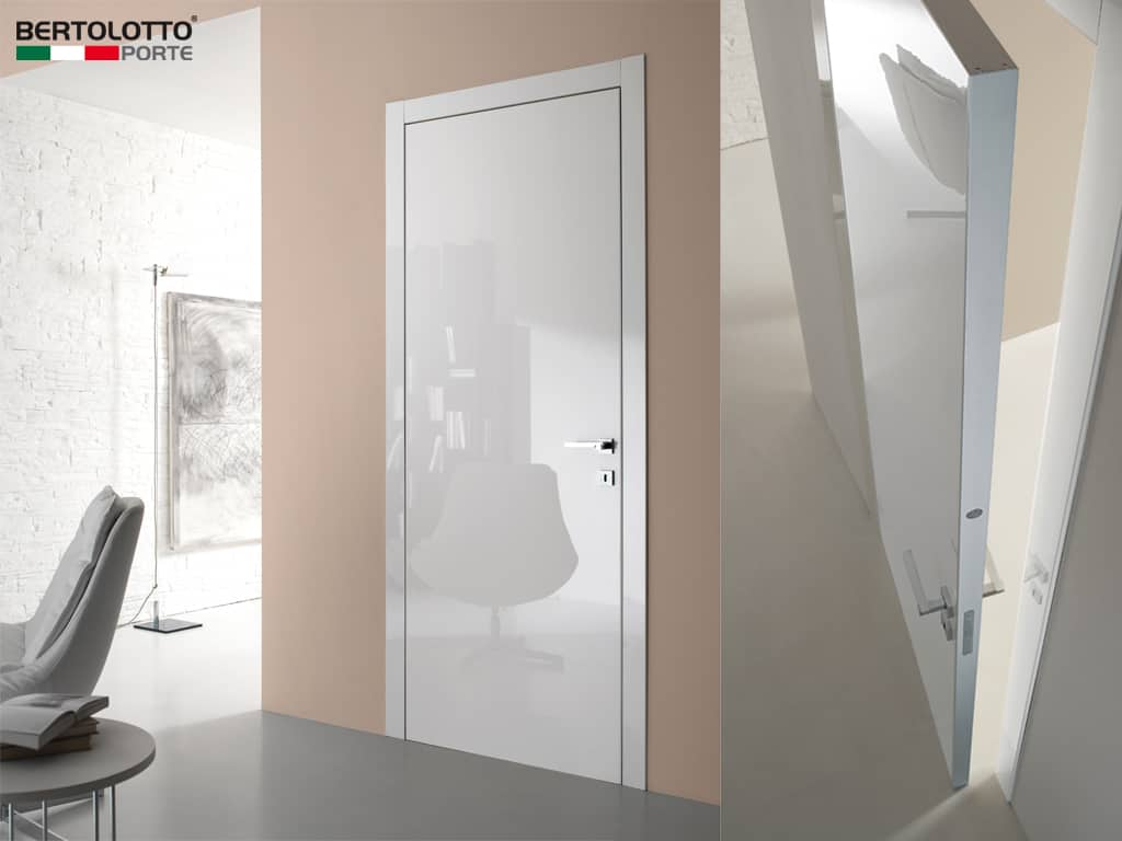 Porte interne bertolotto design moderne vetro for Porte moderne interieur